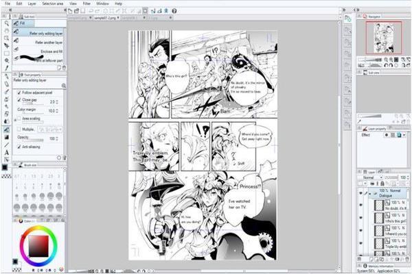 manga studio 5.0-1