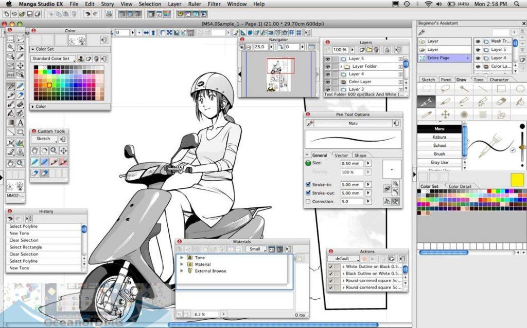 manga studio 5.0-6