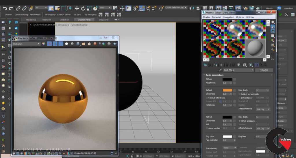 vray for 3ds max 2019-5