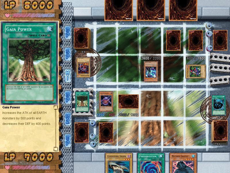 game yugioh pc-8
