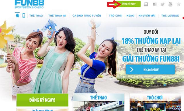 Fun88 là nhà cái được đánh giá uy tín hàng đầu Châu Á